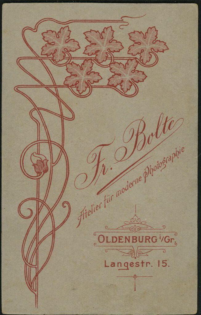 Fr. Bolte - Oldenburg
