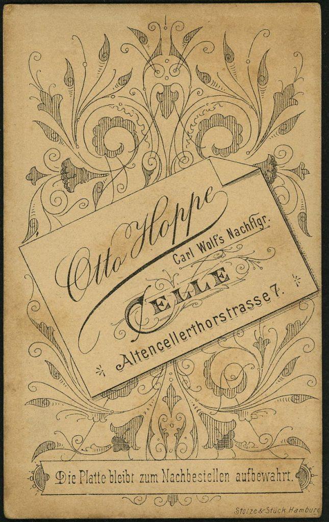 Otto Hoppe - Celle - Carl Wolf