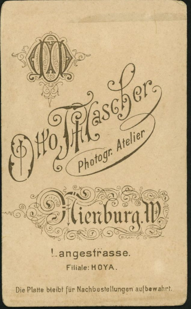 Otto Mascher - Hoya - Nienburg