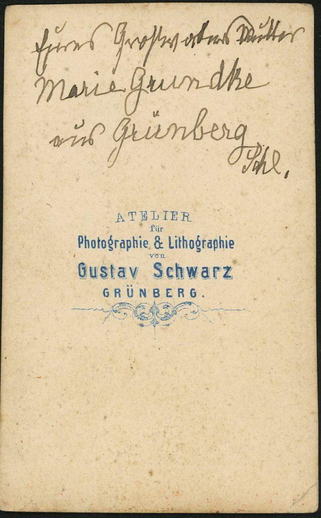 Gustav Schwarz - Grünberg