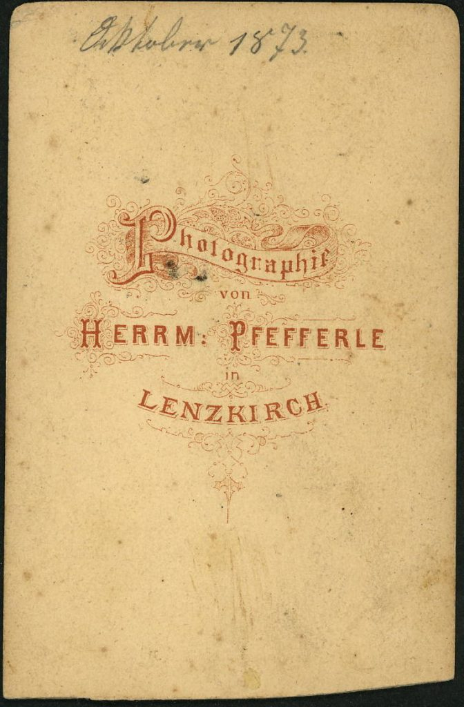 Herrm. Pfefferle - Lenzkirch