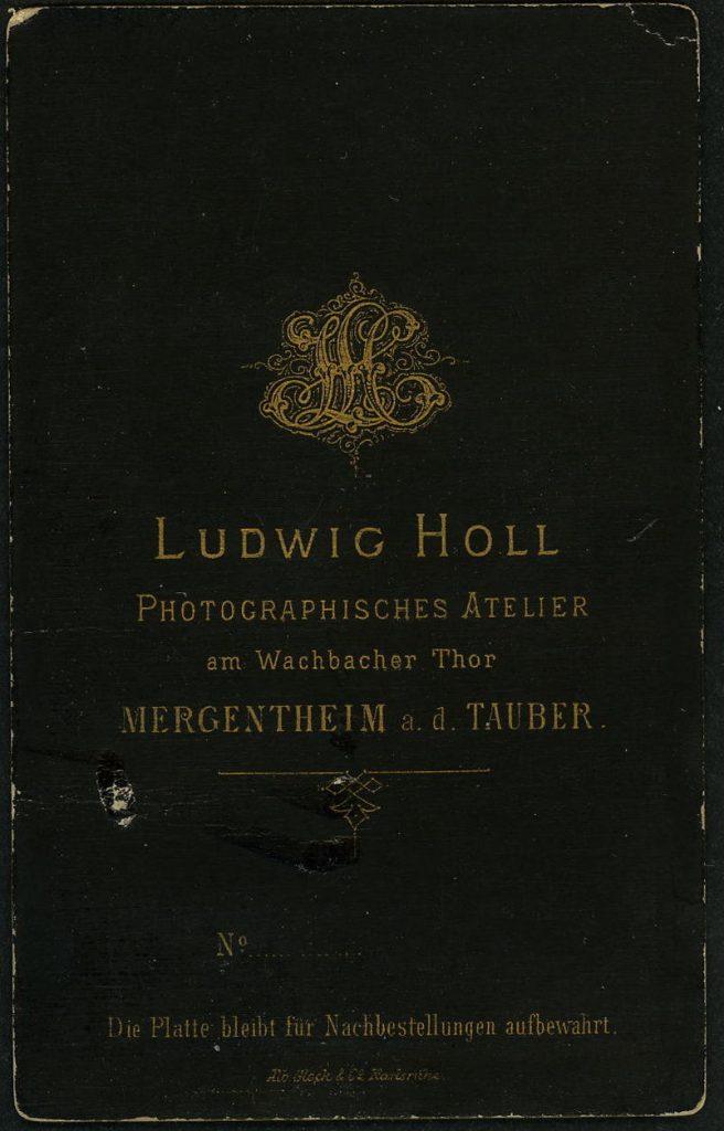 Ludwig Holl - Mergentheim a.d.Tauber