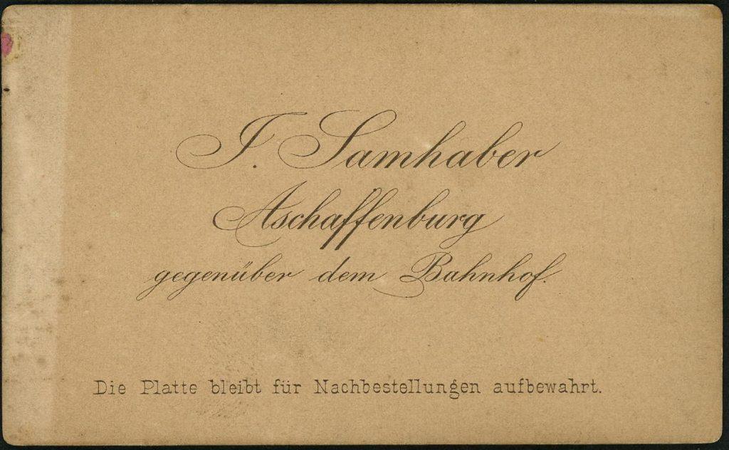 J. Samhaber - Aschaffenburg