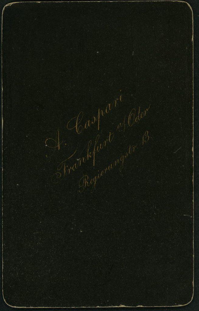 A. Caspari - Frankfurt a.O.