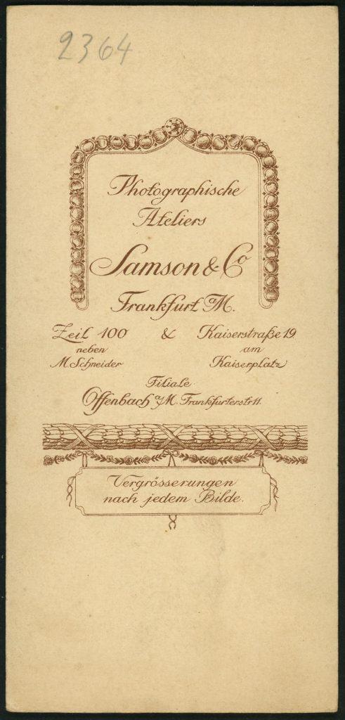 Samson - Frankfurt a.M. - Offenbach a.M.