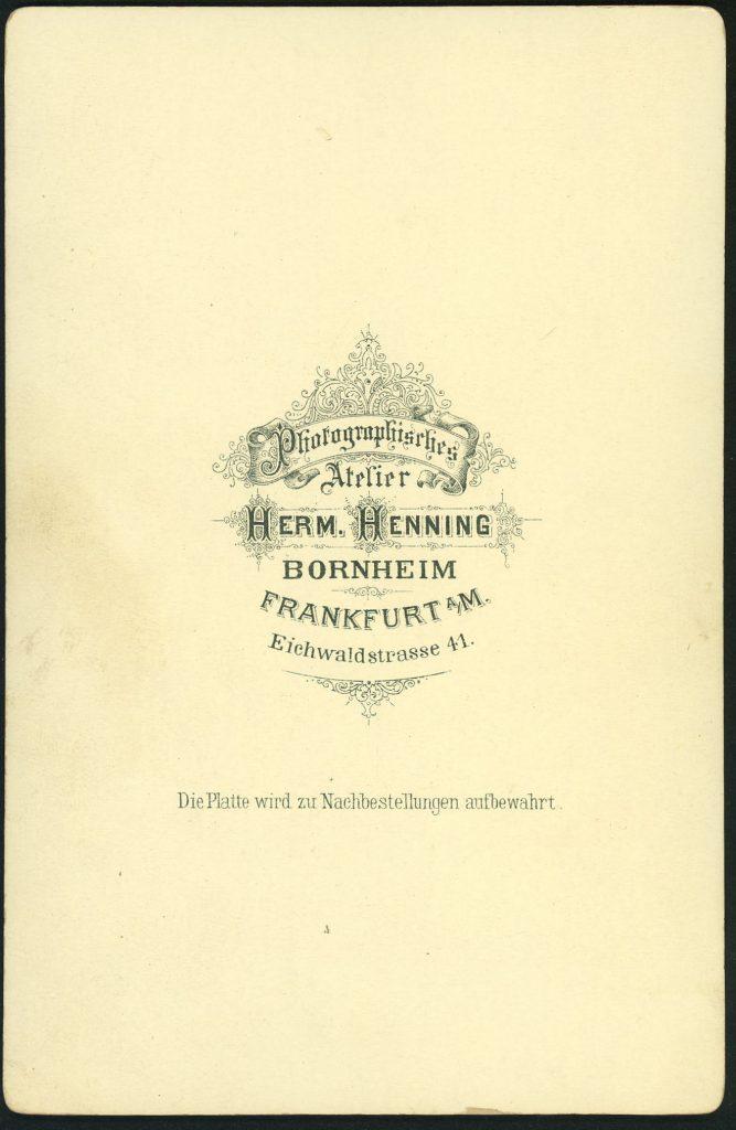 Herm. Henning - Bornheim-Frankfurt a.M.