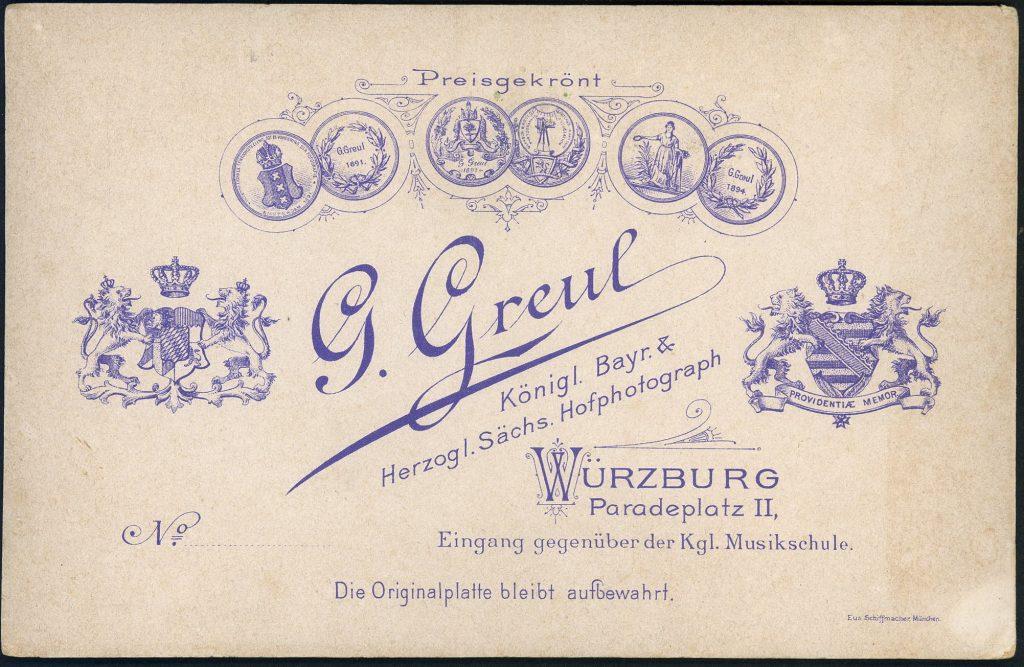 G. Greul - Würzburg