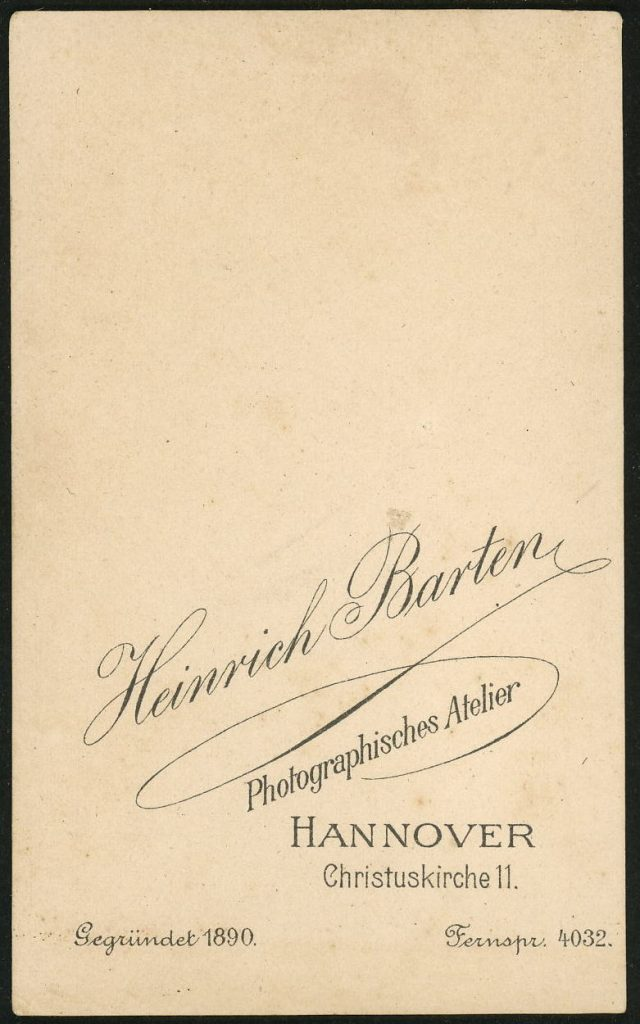 Heinrich Barton - Hannover