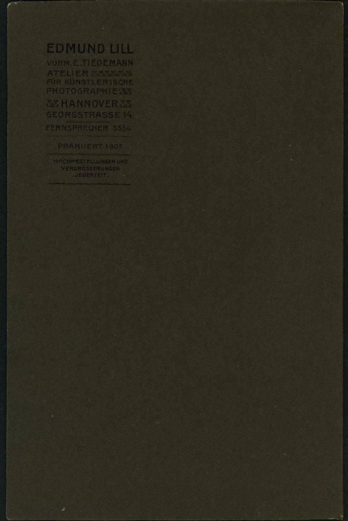 Edmund Lill - Hannover - E. Tiedemann