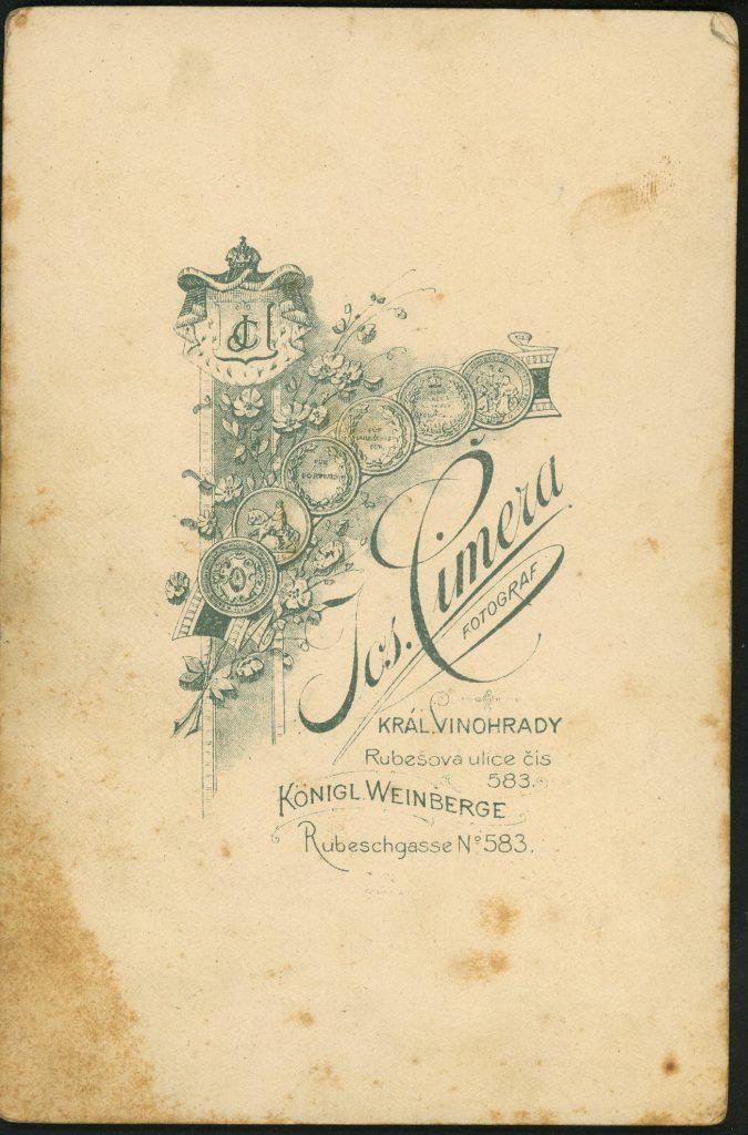 Jos. Cimera - Kral Vinohrady