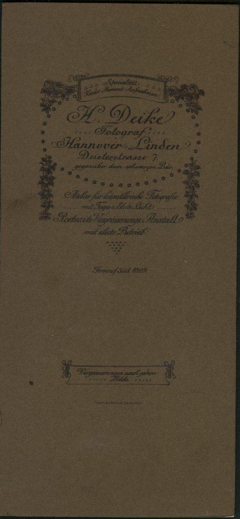 H. Deike - Hannover-Linden